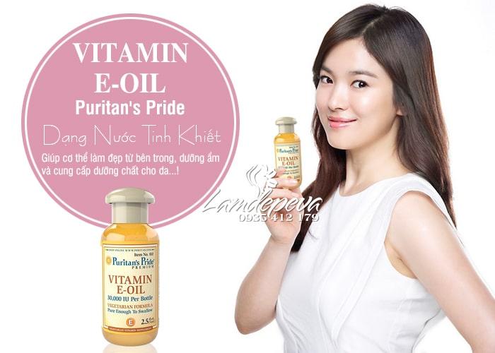 Tinh dầu Vitamin E Oil Puritan's Pride 30.000IU tinh khiết tự nhiên 3