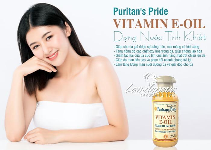 Tinh dầu Vitamin E Oil Puritan's Pride 30.000IU tinh khiết tự nhiên 8