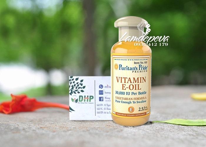 Tinh dầu Vitamin E Oil Puritan's Pride 30.000IU tinh khiết tự nhiên 9