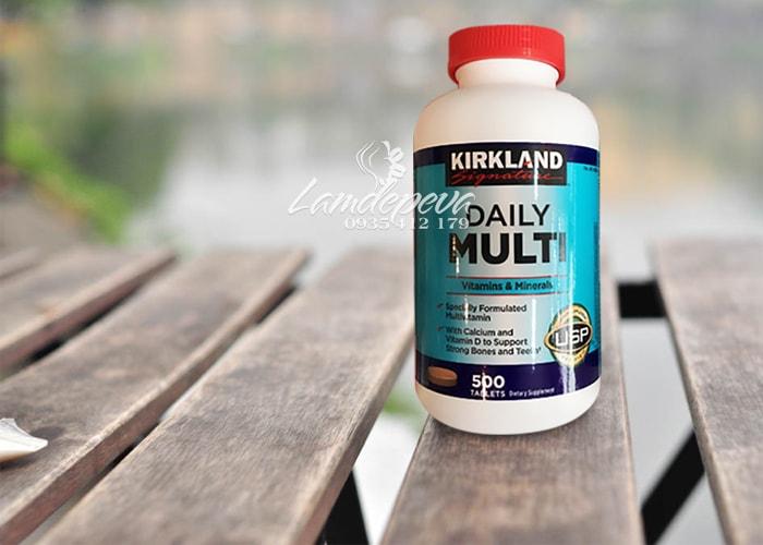 Vitamin tổng hợp Daily Multi Kirkland 500 viên của Mỹ