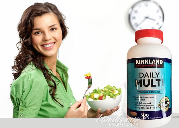 Vitamin tổng hợp Daily Multi Kirkland 500 viên chính hãng Mỹ