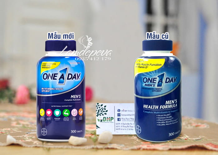 Vitamin cho nam giới ONE A DAY Men's Health Formula 300 viên của Mỹ 8