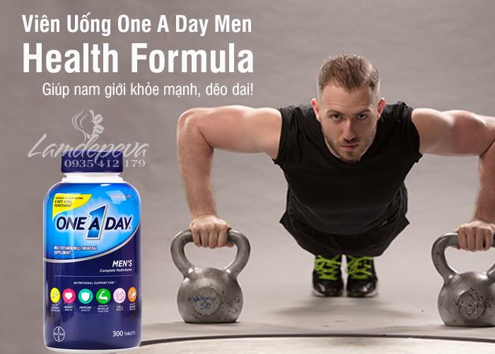 Vitamin cho nam giới ONE A DAY Men's Health Formula 300 viên của Mỹ 6