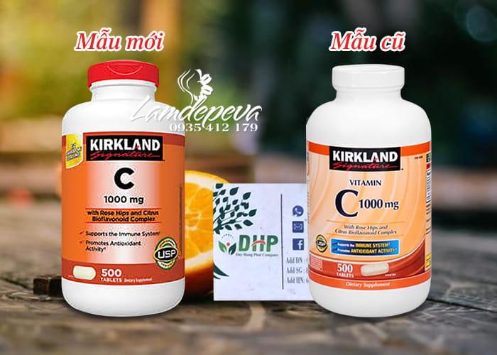 Viên uống bổ sung Vitamin C 1000mg Kirkland hộp 500 viên 5