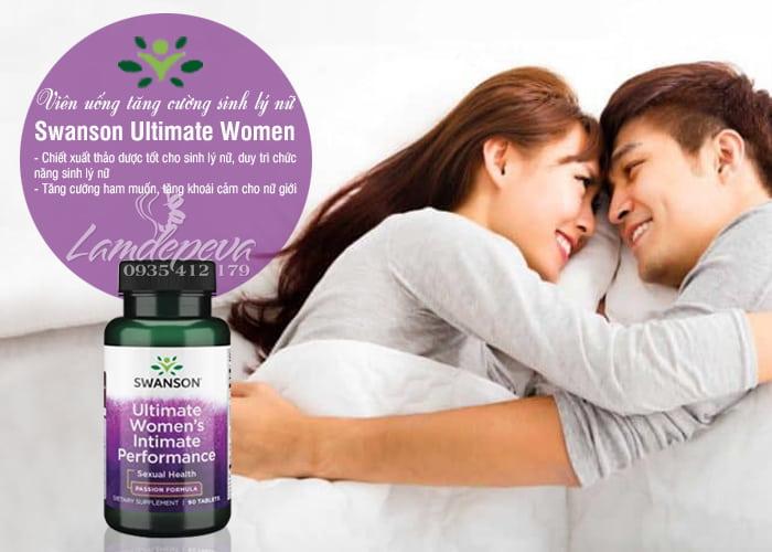 Viên uống Swanson Ultimate Women Intimate Performance 90 viên 3