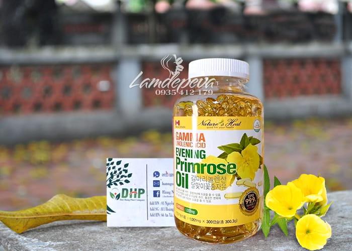 Tinh dầu hoa anh thảo Hàn Quốc 300 viên GLA nội tiết tố nữ 7