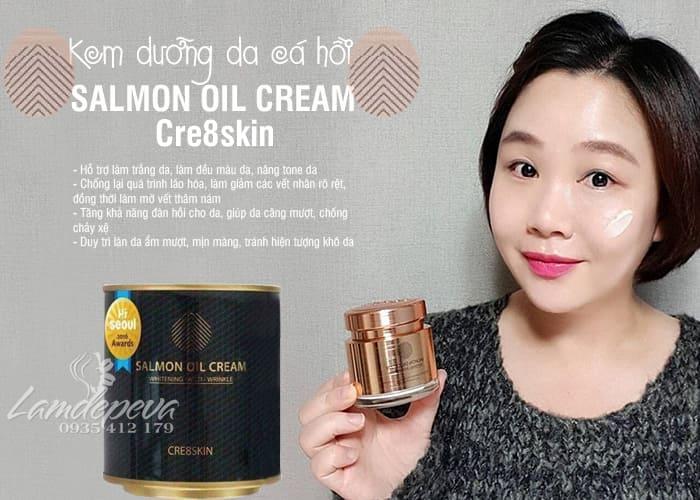 Kem dưỡng da cá hồi Salmon Oil Cream Cre8skin Hàn Quốc 8