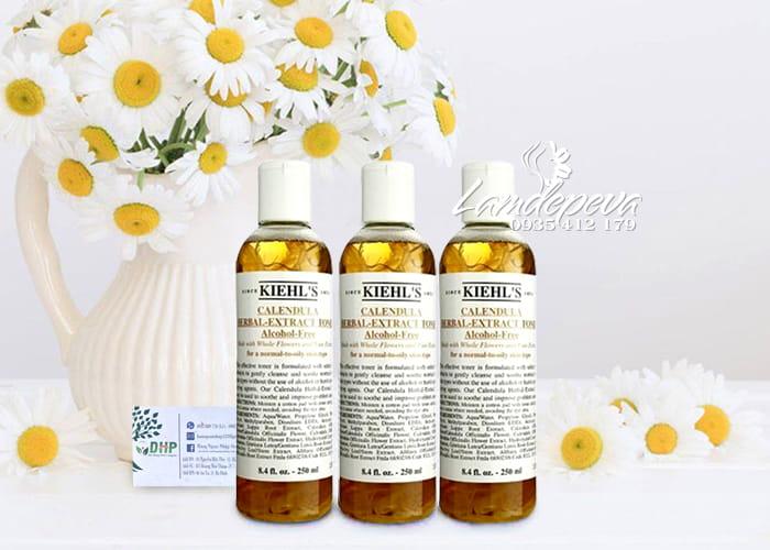 Toner hoa cúc Kiehl's 250ml Calendula Herbal Extract của Mỹ 5