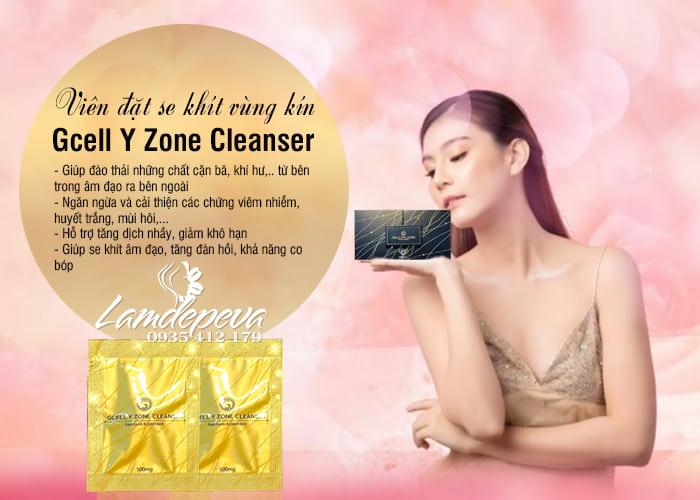 Viên đặt se khít Gcell Y Zone Cleanser 15 viên của Hàn Quốc 9