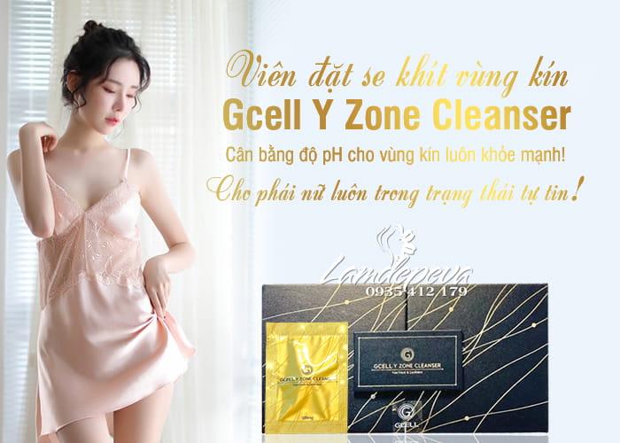 Viên đặt se khít Gcell Y Zone Cleanser 15 viên của Hàn Quốc 4