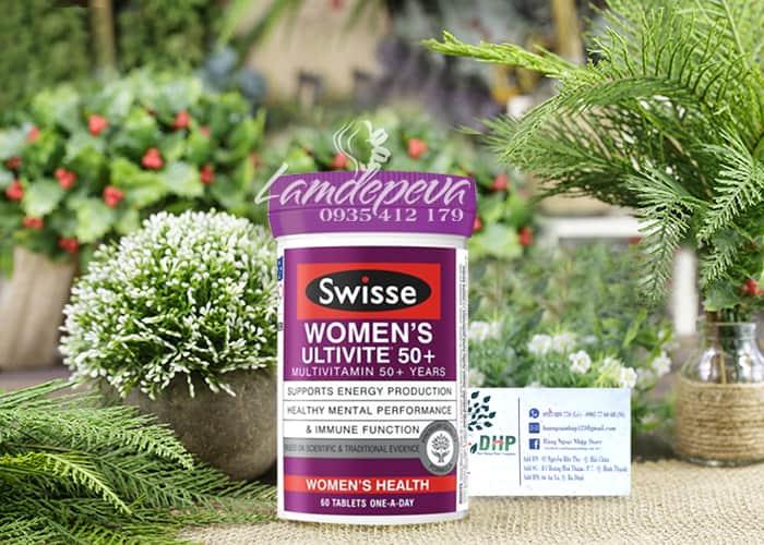 Vitamin tổng hợp cho nữ Swisse Women's Ultivite 50+ 60 viên 7