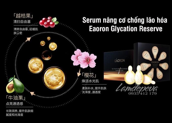 Serum chống lão hóa Eaoron Glycation Reserve Capsules 28v 3